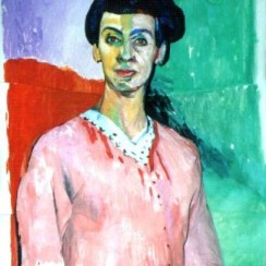 painting channing madame matisse
